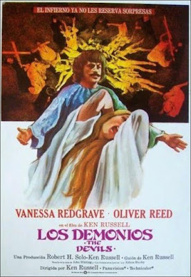 The Devils (Ken Russell's Film of The Devils) 1971 DVD R2 PAL Spanish