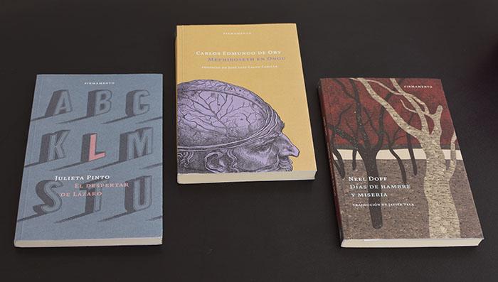 Te presentamos tres títulos de la editorial Firmamento