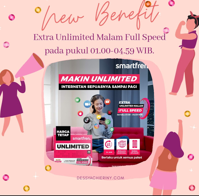 Smartfren Unlimited Malam