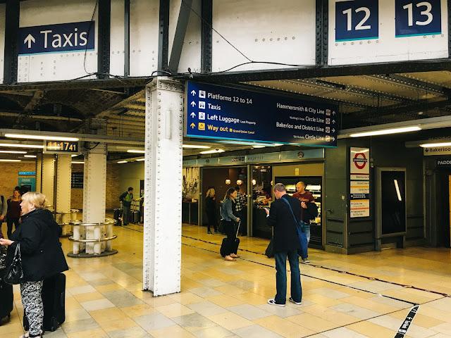 パディントン駅(Paddington Station)