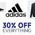 ADIDAS Extra 30% Off All Sale Items + Free Shipping and Free Shipping Back on Returns. Great deals on Sneakers, Clothing, Accessories and More for the entire family
