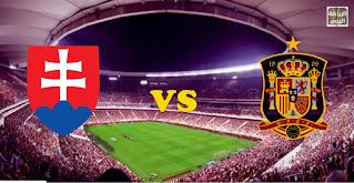 نتيجة المباراة في بث مباشر بين منتخب سلوفاكيا و منتخب الإسبانيا في ( يورو 2020 ) 23/6/2021
