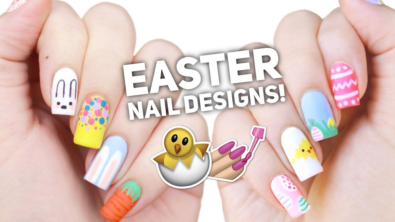 Cute Spring/Easter Nail Art Ideas- Ultimate Guide