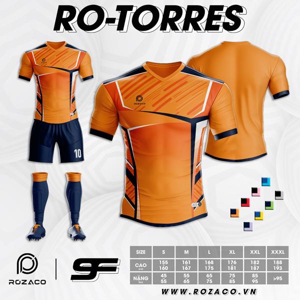 Áo Không Logo Rozaco RO-TORRES Màu Cam Nhạt