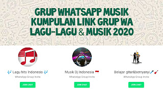 Grup Whatsapp Musik