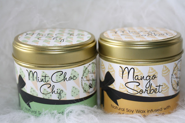 Kiss Air Candles - The Ice Cream Parlour collection