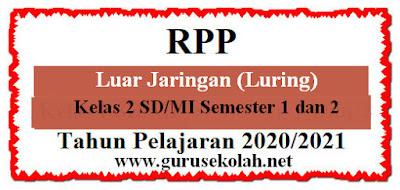 RPP Luring K13 Kelas 2 Semester 1 dan 2 Edisi 2020