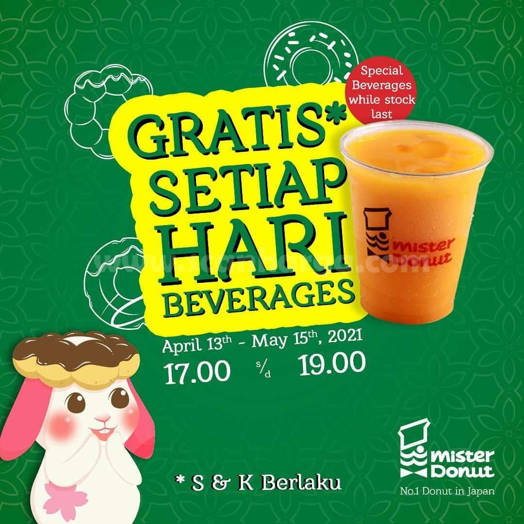 Promo Mister Donut Terbaru 13 April - 15 Mei 2021