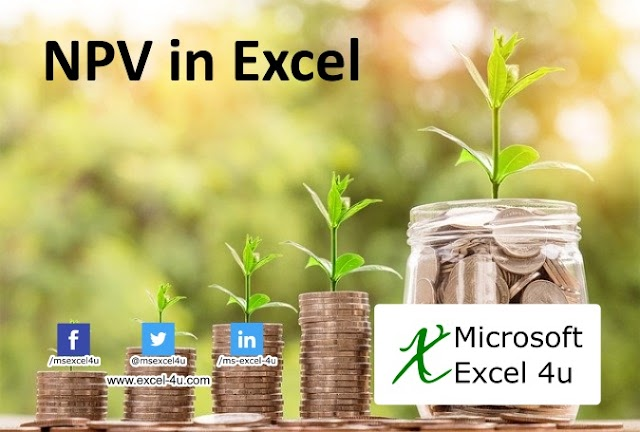 NPV in Excel