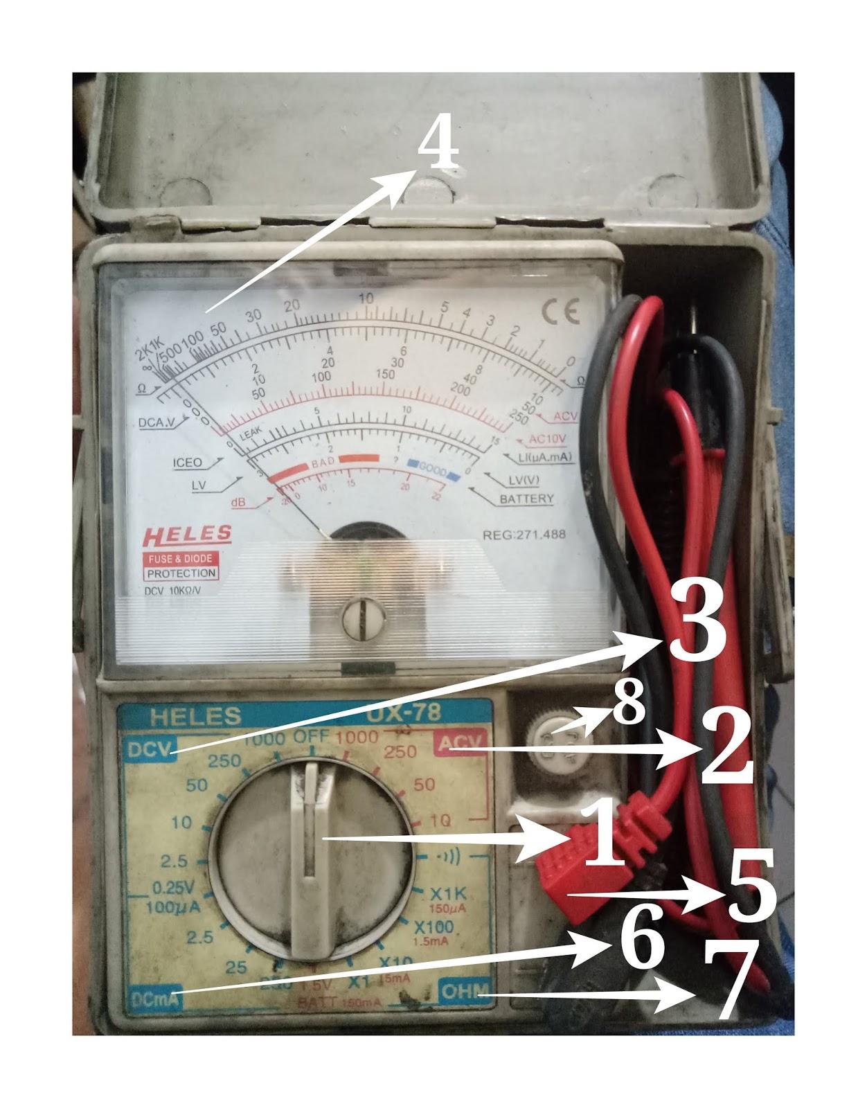 Cara Menggunakan Multimeter Analog : menggunakan, multimeter, analog, Menggunakan, (avometer, Multimeter), Analog, Untuk, Pemula, Maintenance, Workshop