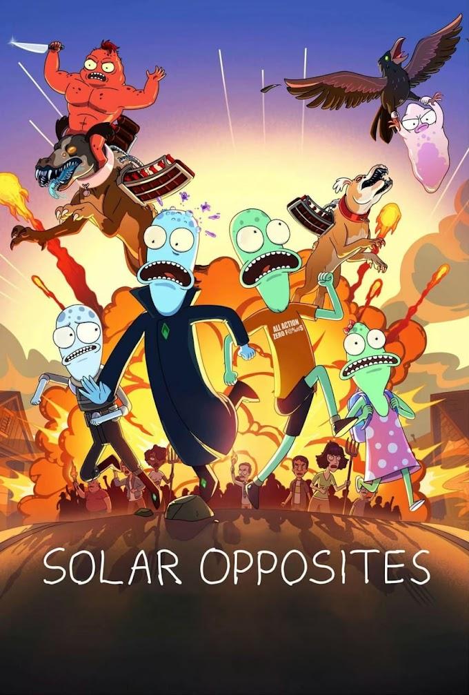 Solar Opposites 2° Temporada (dublado)