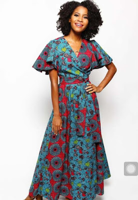 Best Ankara Wrap Dress Styles