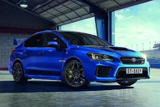 Subaru WRX STI Final Edition (2017) Front Side