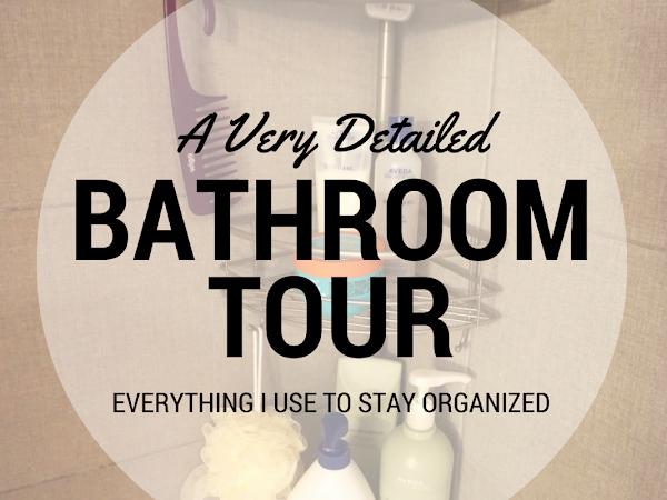 An Overly Detailed Bathroom Tour