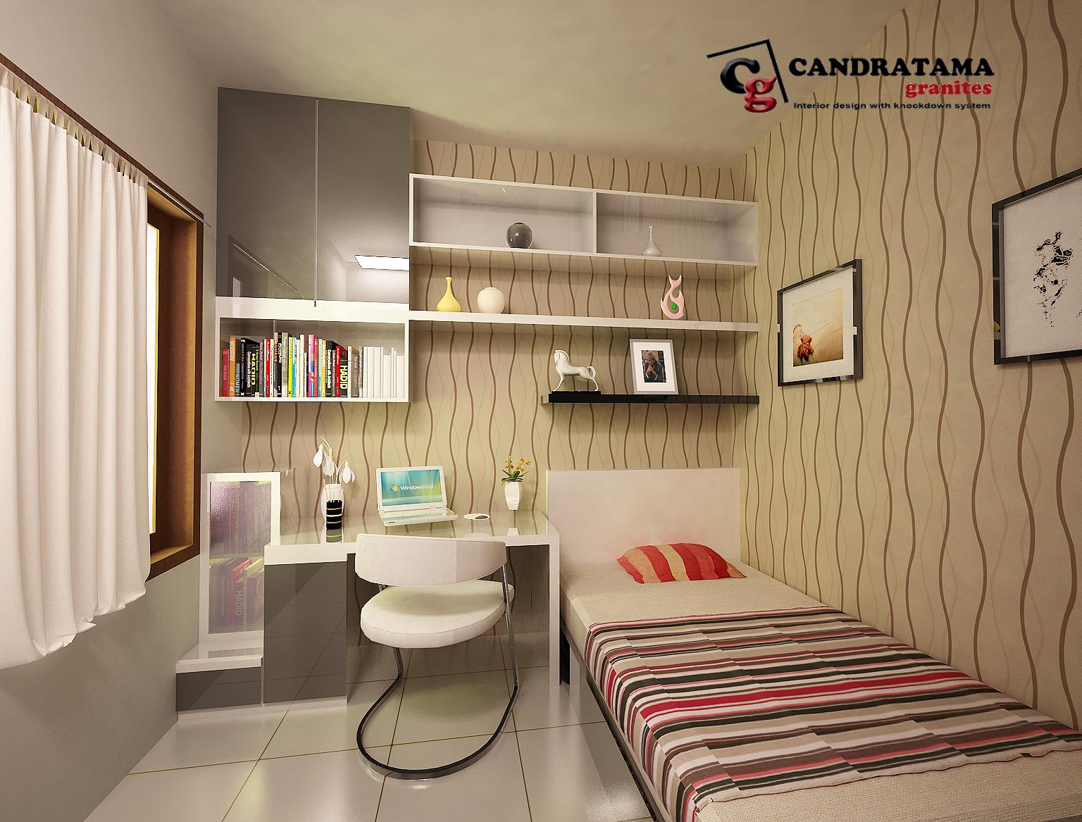 ... dalam kamar tidur anda Menambahkan terlalu banyak warna didalam kamar tidur yang memiliki lahan terbatas justru akan memberikan efek lebih sempit! & Cara Menata atau Mendesain Kamar Tidur yang Sempit | Desain ...
