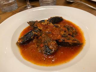 Stuffed mussels - Osteria del Carugio (Portovenere)
