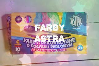 Farby dekoracyjne o połysku perłowym Astra