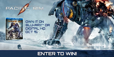 Enter to win sci-fi thriller Pacific Rim on Blu-Ray. Ends 10/22.