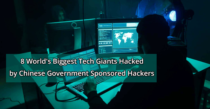 Tech giants hacked