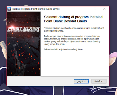 cara install point blank zepetto
