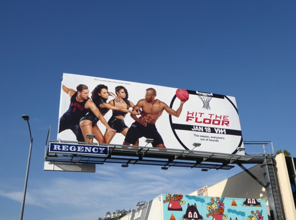Hit the Floor season 3 billboard