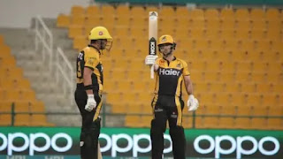 PSL: Peshawar Zalmi beat Islamabad United, qualified for the fourth final