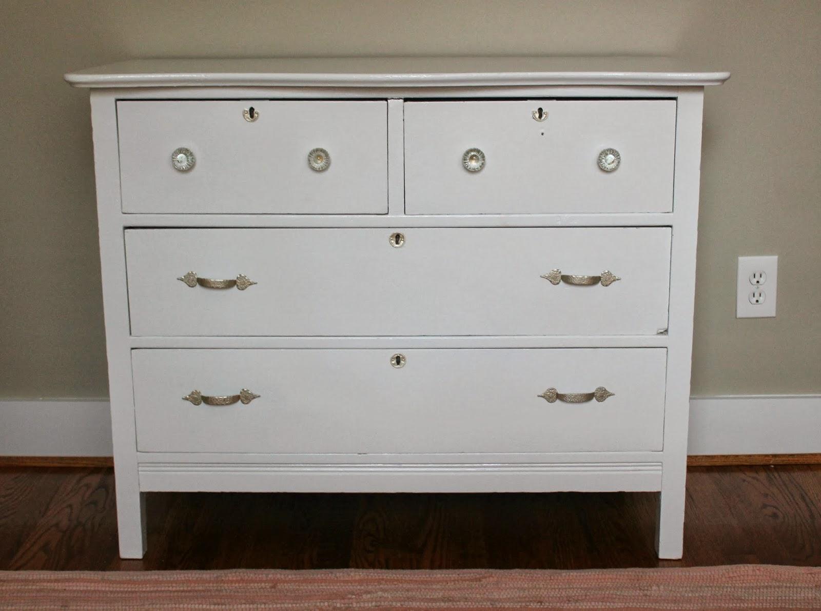 Nursery Update {Refinished Dresser}