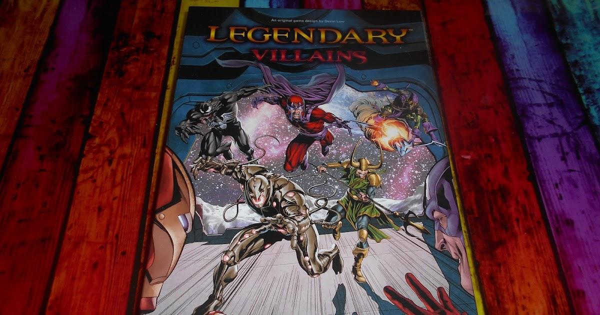 The Garage Gamers Marvel Legendary Villians From Upper