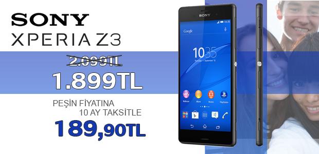 Sony Xperia Z3 Kampanyasi