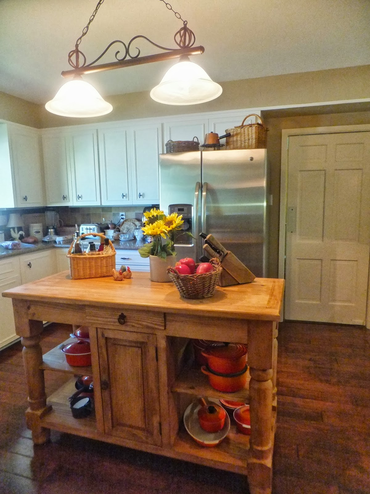 What Is A Kitchen Island With Pictures: Ash Tree Cottage: New Kitchen Island