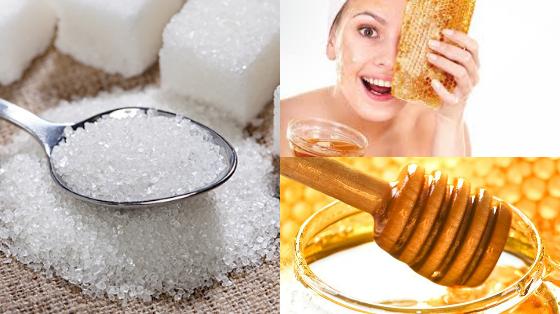 esfoliacao caseira acucar e mel pele com acne