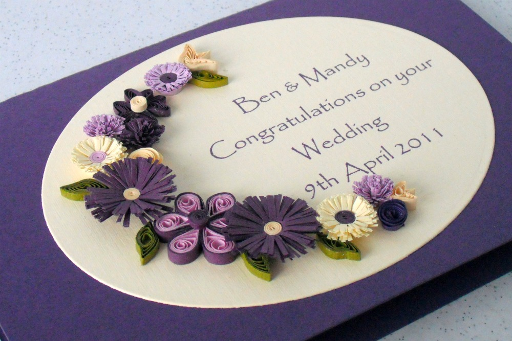 Quilled Wedding Cards