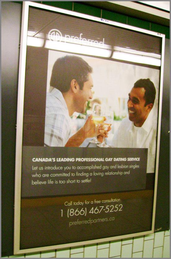 Gay dating service Toronto