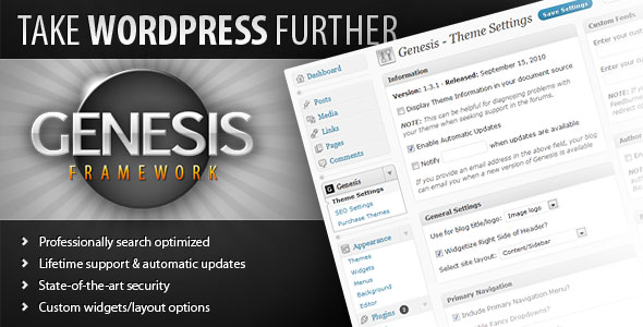 Free Download Genesis V2.2.5 Framework Studiopress Wordpress Theme