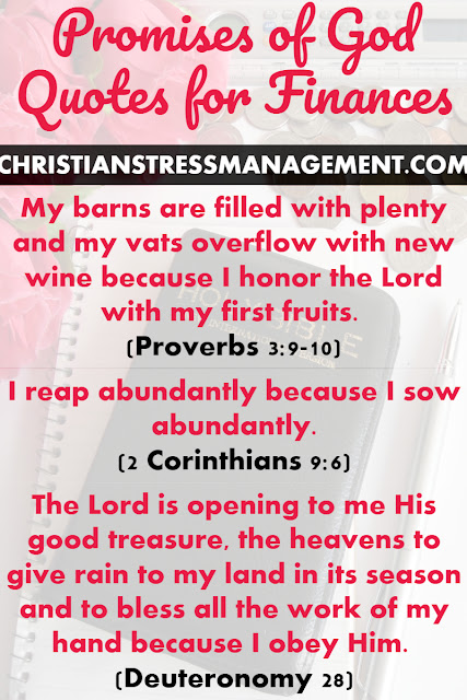 Promises of God Quotes for Your Finances