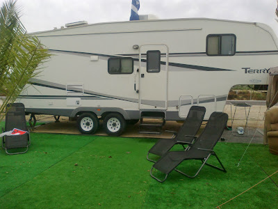 5th wheel American trailer for sale, Costa Blanca, Spain. Marjal, Alicante, Torrevieja, Santa Pola,