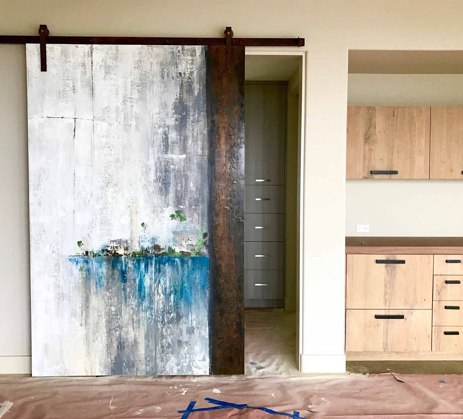 Painted Barn Doors Denise Cerro Sliding Doors