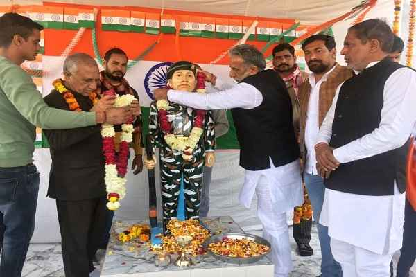 faridabad-tigaon-adhana-patti-village-news-shaheed-virendrer-singh