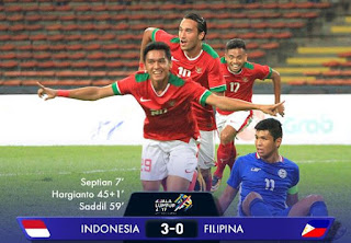 Indonesia Menang 3-0 atas Filipina - Sepakbola SEA Game 2017