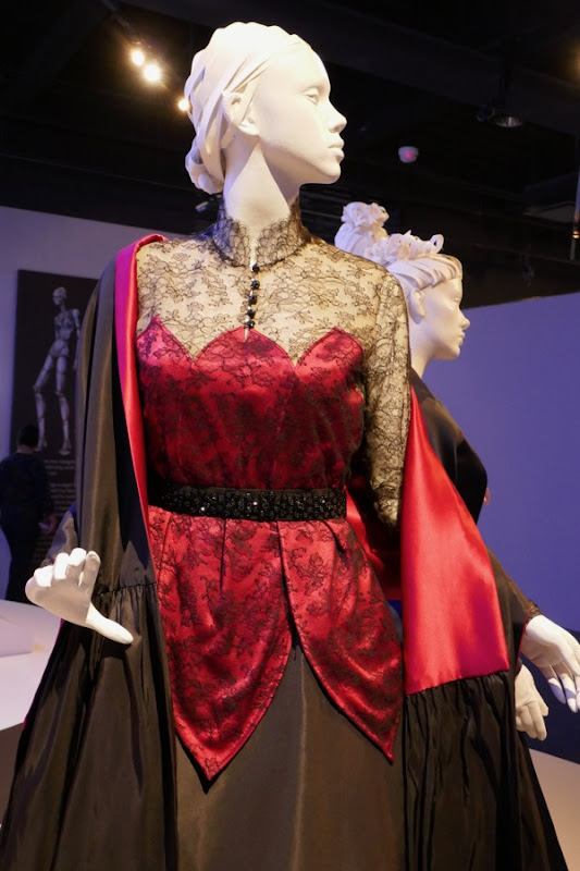 Phantom Thread Alma red black costume