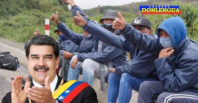 Mil refugiados venezolanos duermen en las calles de la Frontera con Perú