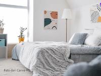 Pemilik Ruangan Sempit Wajib Tahu, Berikut Tips Dekorasi Kamar Tidur Agar Lebih Luas