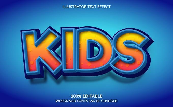 Kids Text Effect Ai