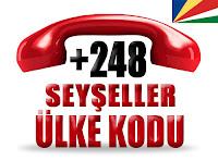 +248 Seyşeller ülke telefon kodu