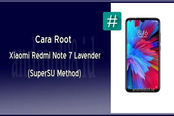 Cara Root Xiaomi Redmi Note 7 (Lavender) Via TWRP Recovery (SuperSU Method)