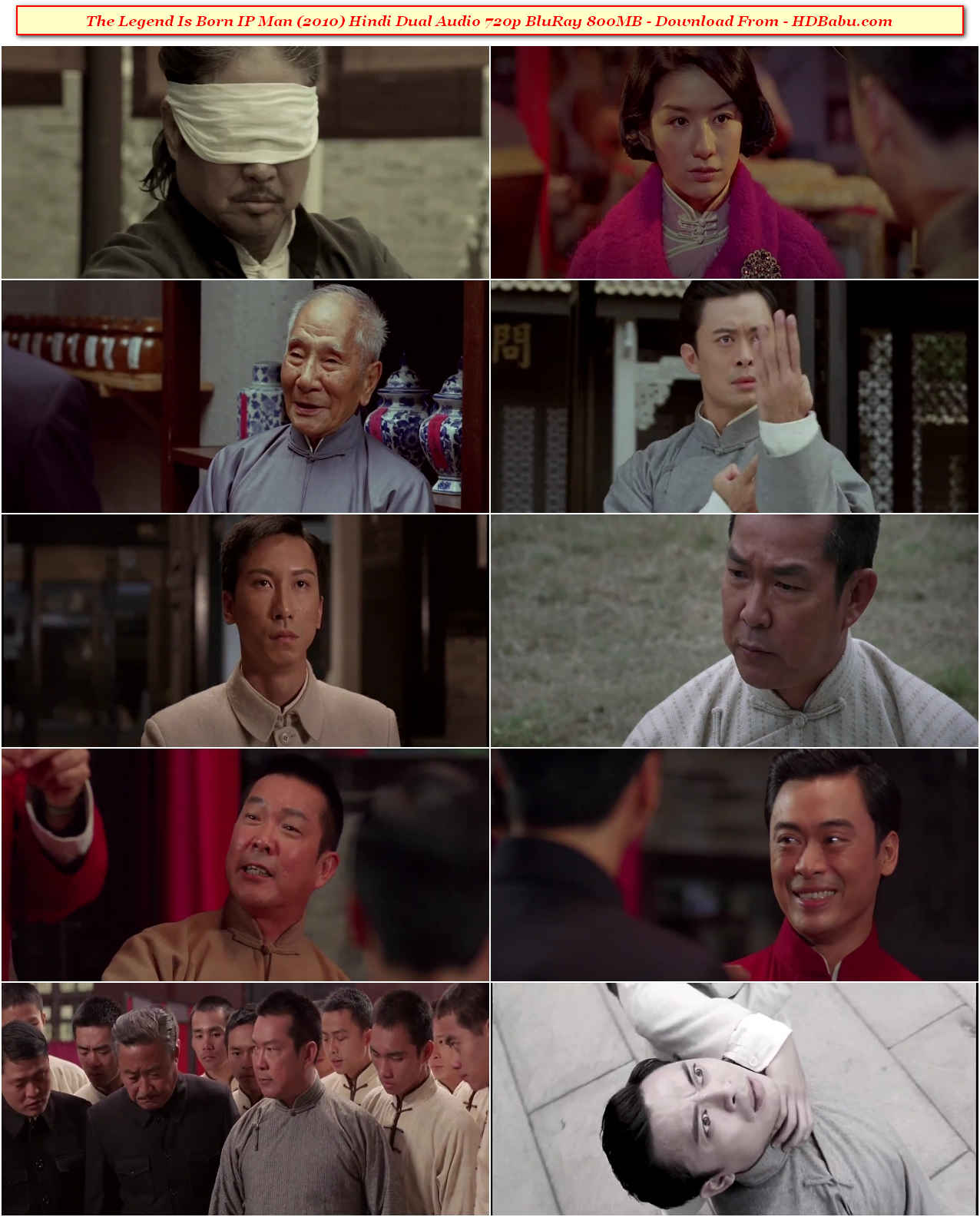 The Legend Is Born IP Man Hindi Dual Audio Full Movie Download