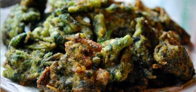 ricetta delle frittelle alle cime di rapa