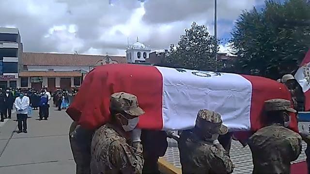 Declaran héroe provincial a Ronald Mamani, soldado que perdió la vida tras ser atropellado en toque de queda