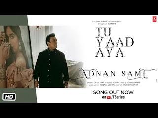 Tu Yaad Aya Lyrics | Adnan Sami