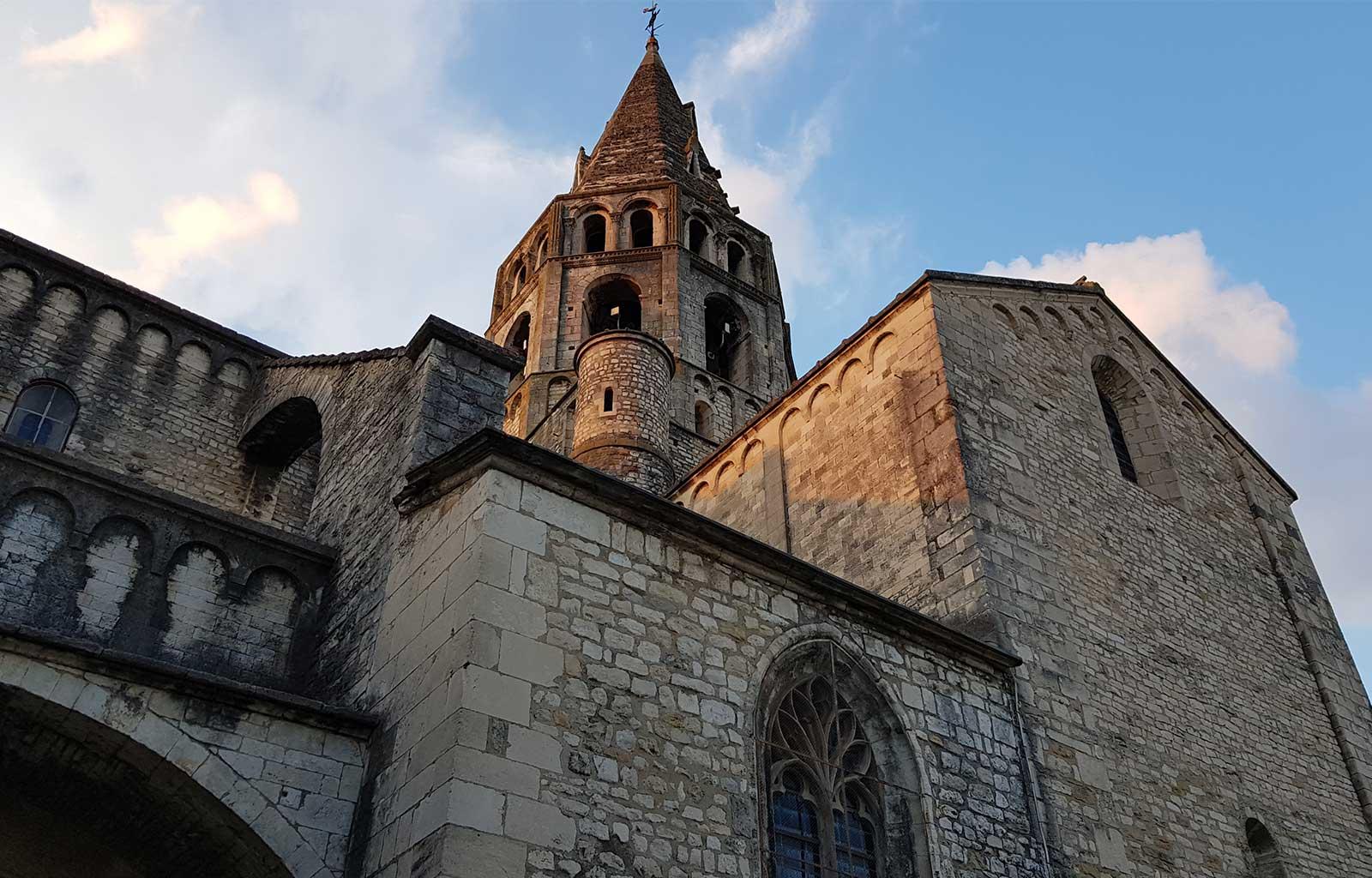 visites bonnes adresses Ardèche église Bourg-Saint-Andéol